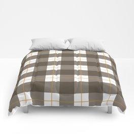 Fall Plaid Comforters
