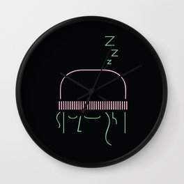 Sleepy Nawar Wall Clock