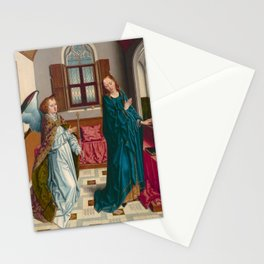 """Albert Bouts """"The Annunciation"""" Stationery Cards"""