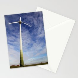 Wind power Stationery Cards