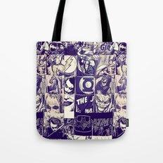Comic Land Tote Bag