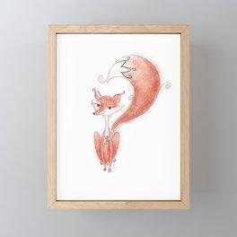Foxy Lady Framed Mini Art Print