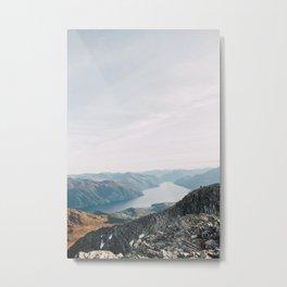 oh so fjordeous Metal Print