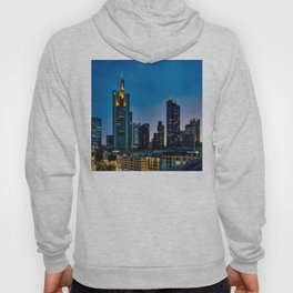 frankfurt germany panorama city Hoody