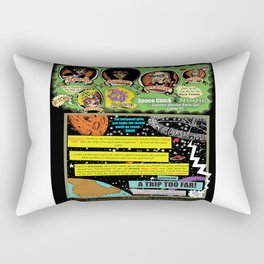 Page #1 of Tex Watt's  (UNCENSORED) SUNDAY COMIX POP-ART! Rectangular Pillow