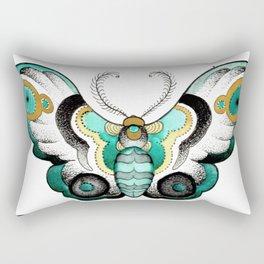 Moths Rectangular Pillow