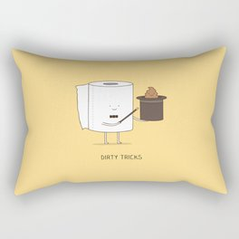 Dirty tricks Rectangular Pillow