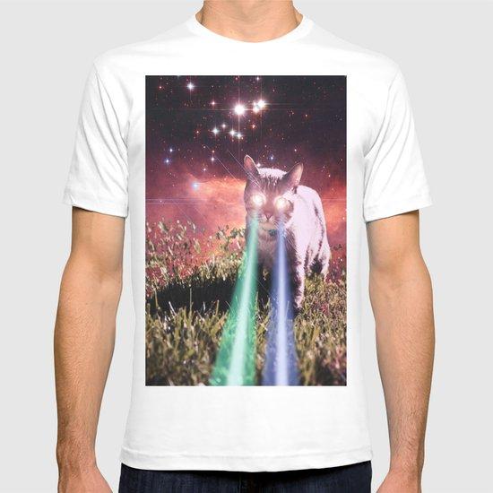 Mega Space Cat Rising T-shirt