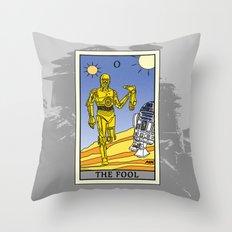 The Fool - Tarot Card Throw Pillow