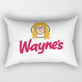WAYNE'S SINGLE #2 Rectangular Pillow
