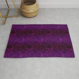 Purple glitter, sequins, sequins, shiny Rug