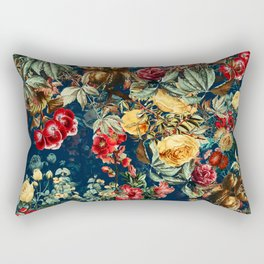 Pomegranate Garden Rectangular Pillow