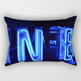 Neon Art Rectangular Pillow