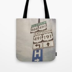 Old route... new route Tote Bag