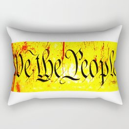 We The People jGibney The MUSEUM Society6 Gifts Rectangular Pillow