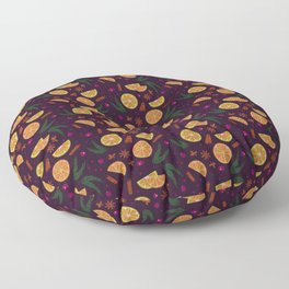 Mulled Wine Floor Pillow