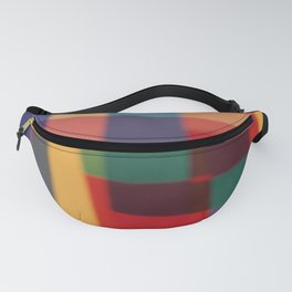 Colored blur background 5 Fanny Pack