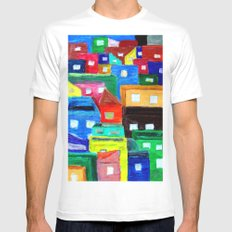 The Dream MEDIUM White Mens Fitted Tee