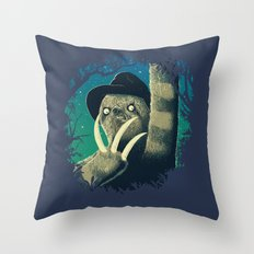 Sloth Freddy Throw Pillow
