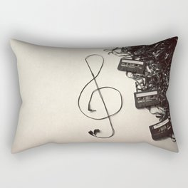 Feel The Music Rectangular Pillow