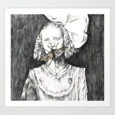 Mayfly moments. Art Print