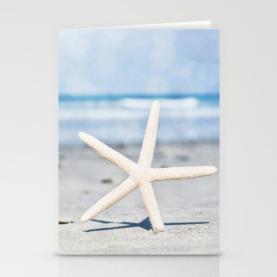 Starfish By The Seashore  Stationery Cards