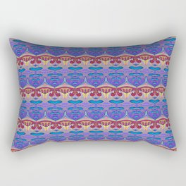 Soul Groove Rhythm Print Rectangular Pillow
