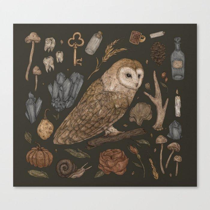 Harvest Owl Leinwanddruck