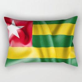 Togo Flag Rectangular Pillow