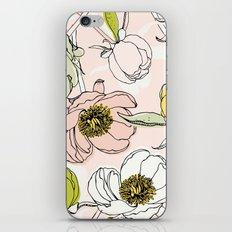 Peonies I iPhone & iPod Skin