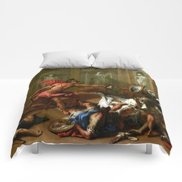 Sebastiano Ricci Perseus Confronting Phineus with the Head of Medusa Comforters