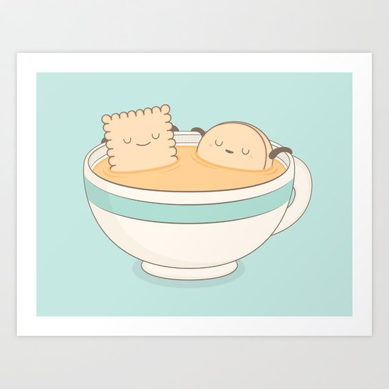 loosen up a little! Art Print