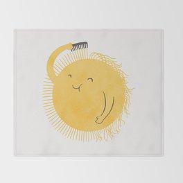 Good Morning, Sunshine Throw Blanket