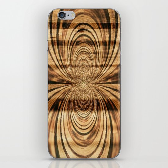 Spider Wood iPhone & iPod Skin