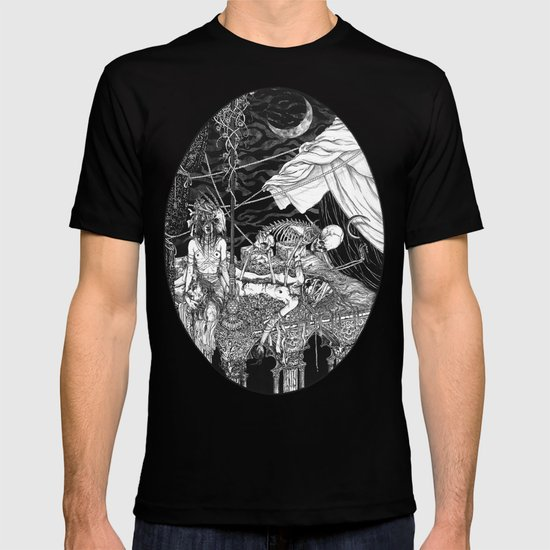Fleeing Skeleton T-shirt