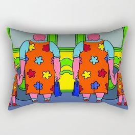 Miss Bridget Rectangular Pillow