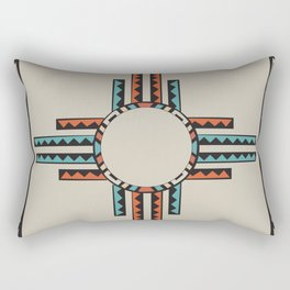 American Native Pattern No. 157 Rectangular Pillow