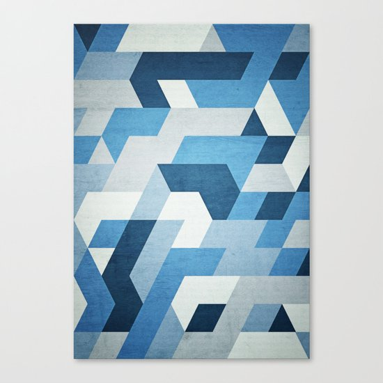 Abstract Geometry  Canvas Print