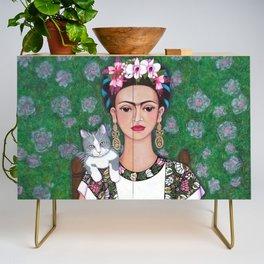 Frida cat lover Credenza