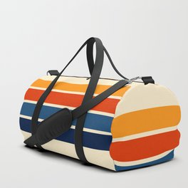 Classic Retro Stripes Duffle Bag