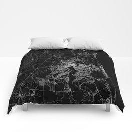 Jacksonville map Comforters