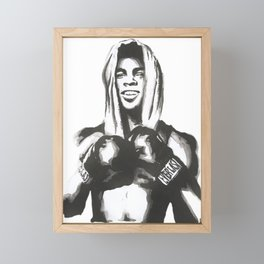 boxing legend Framed Mini Art Print