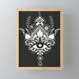 Mandala Queen Framed Mini Art Print