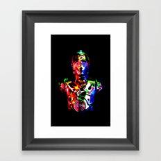 Star Wars: C-3POCMYKRGB Framed Art Print