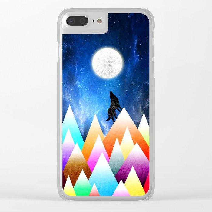 JOY NIGHT Clear iPhone Case