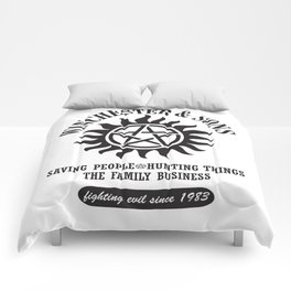 SUPERNATURAL WINCHESTER AND SONS Comforters