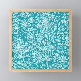 Decorative flowers 29 Framed Mini Art Print