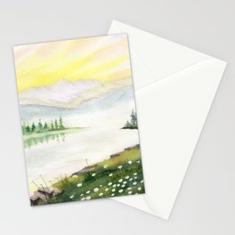 Far Side of Mountain  Stationery Cards