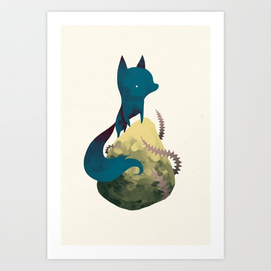 blacko Art Print