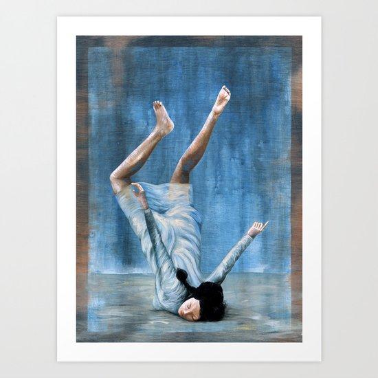 Almost Blue Art Print